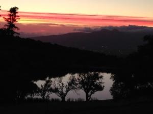 Sunset on Christmas Day